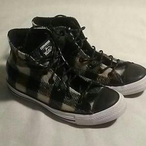 Woolrich Converse High Top Sneakers